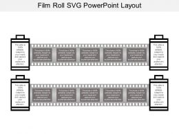 Film Roll Svg Powerpoint Layout