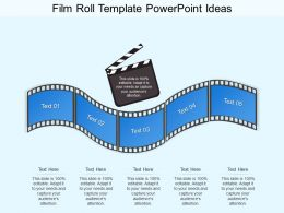 Film Roll Template Powerpoint Ideas
