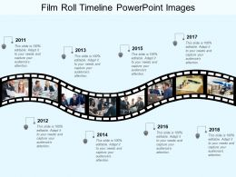 Film Roll Timeline Powerpoint Images