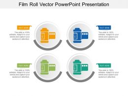 Film Roll Vector Powerpoint Presentation