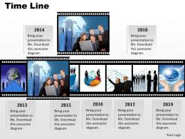 Filmstrip Timeline Roadmap For Visual Diaplay 0114