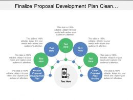 Finalize Proposal Development Plan Clean Proposal Files Archive