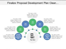 Finalize Proposal Development Plan Clean Proposal Files Archive