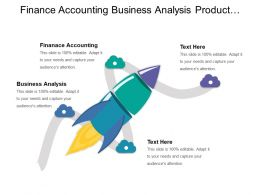 Finance Accounting Business Analysis Product Planning Supply Chain Management