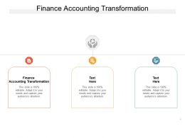 Finance Accounting Transformation Ppt Powerpoint Presentation Summary Format Cpb