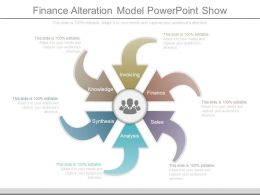 Finance Alteration Model Powerpoint Show