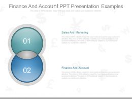 Finance And Account Ppt Presentation Examples