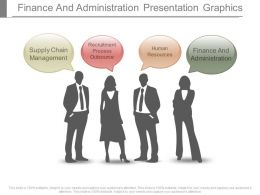 Finance And Administration Presentation Graphics