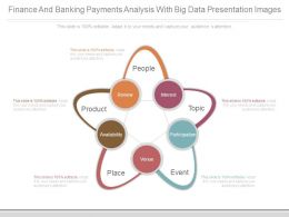 Finance And Banking Payments Analysis With Big Data Presentation Images