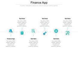 Finance App Ppt Powerpoint Presentation File Layout Ideas Cpb
