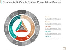 Finance Audit Quality System Presentation Sample