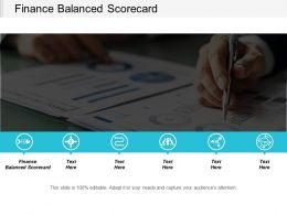 Finance Balanced Scorecard Ppt Powerpoint Presentation Portfolio Picture Cpb