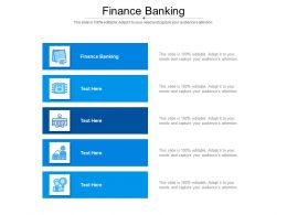 Finance Banking Ppt Powerpoint Presentation Outline Example Cpb