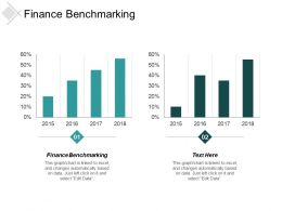 Finance Benchmarking Ppt Powerpoint Presentation Inspiration Outline Cpb