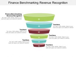 Finance Benchmarking Revenue Recognition Ppt Powerpoint Presentation Layouts Professional Cpb