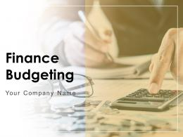 Finance Budgeting Powerpoint Presentation Slides