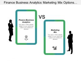 Finance Business Analytics Marketing Mix Options Trading Strategies Cpb