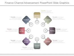 Finance Channel Advancement Powerpoint Slide Graphics
