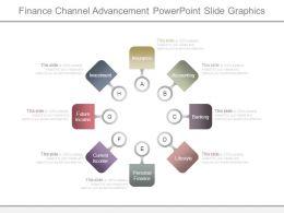Finance Channel Advancement Powerpoint Slide Graphics