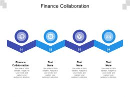 Finance Collaboration Ppt Powerpoint Presentation Icon Demonstration Cpb