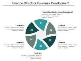 Finance Directors Business Development Ppt Powerpoint Presentation Gallery Templates Cpb