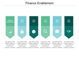 Finance Enablement Ppt Powerpoint Presentation File Diagrams Cpb