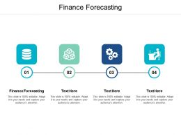 Finance Forecasting Ppt Powerpoint Presentation Pictures Graphics Cpb