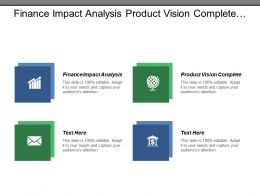 Finance Impact Analysis Product Vision Complete Market Assessment