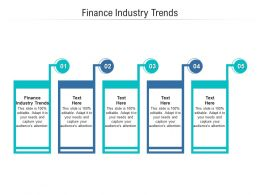 Finance Industry Trends Ppt Powerpoint Presentation Styles Maker Cpb