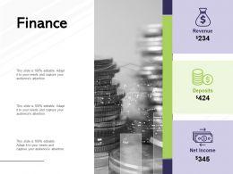 Finance Investment Marketing C841 Ppt Powerpoint Presentation Slides Microsoft
