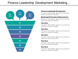 Finance Leadership Development Marketing Performance Measurement Internet Business Valuation Cpb
