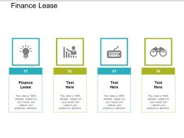 Finance Lease Ppt Powerpoint Presentation Slides Pictures Cpb