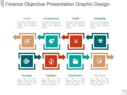 Finance Objective Presentation Graphic Design