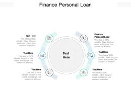 Finance Personal Loan Ppt Powerpoint Presentation Pictures Master Slide Cpb