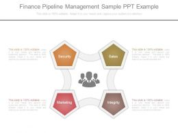 Finance Pipeline Management Sample Ppt Example