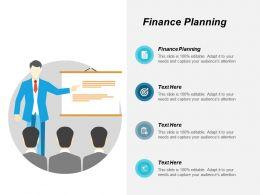 Finance Planning Ppt Powerpoint Presentation Gallery Information Cpb