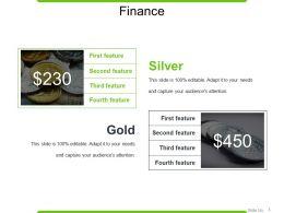Finance Powerpoint Slide
