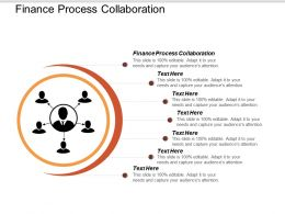 Finance Process Collaboration Ppt Powerpoint Presentation Gallery Designs Download Cpb