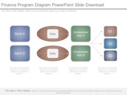 Finance Program Diagram Powerpoint Slide Download