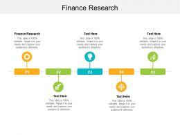 Finance Research Ppt Powerpoint Presentation Infographic Template Skills Cpb