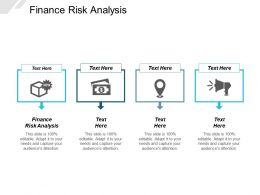 Finance Risk Analysis Ppt Powerpoint Presentation Layouts Designs Cpb