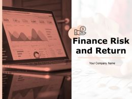 Finance Risk And Return Powerpoint Presentation Slides