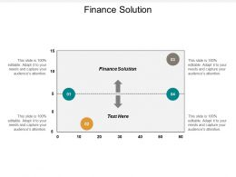 Finance Solution Ppt Powerpoint Presentation Outline Microsoft Cpb