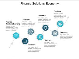 Finance Solutions Economy Ppt Powerpoint Presentation Icon Infographic Template Cpb