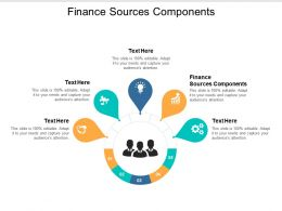 Finance Sources Components Ppt Powerpoint Presentation Outline Background Cpb