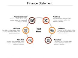 Finance Statement Ppt Powerpoint Presentation File Design Inspiration Cpb
