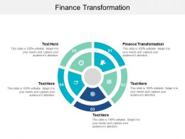 Finance Transformation Ppt Powerpoint Presentation File Outfit Cpb