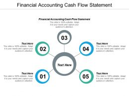 Financial Accounting Cash Flow Statement Ppt Powerpoint Presentation Infographic Cpb