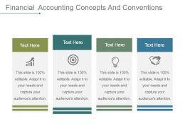 Financial Accounting Concepts And Conventions Powerpoint Slide Backgrounds
