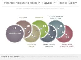 Financial Accounting Model Ppt Layout Ppt Images Gallery
